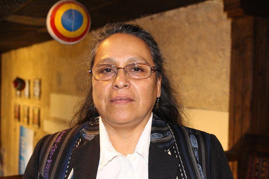 Sandra Moran, kongresskvinne i Guatemala.