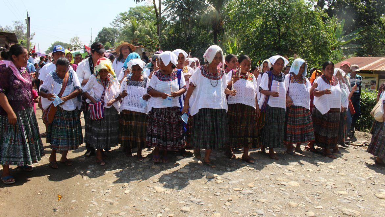 Internasjonal pris til urfolkskvinner i Guatemala