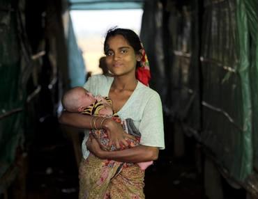 Kvinne med barn, seksuell og reproduktiv helse og rettigheter